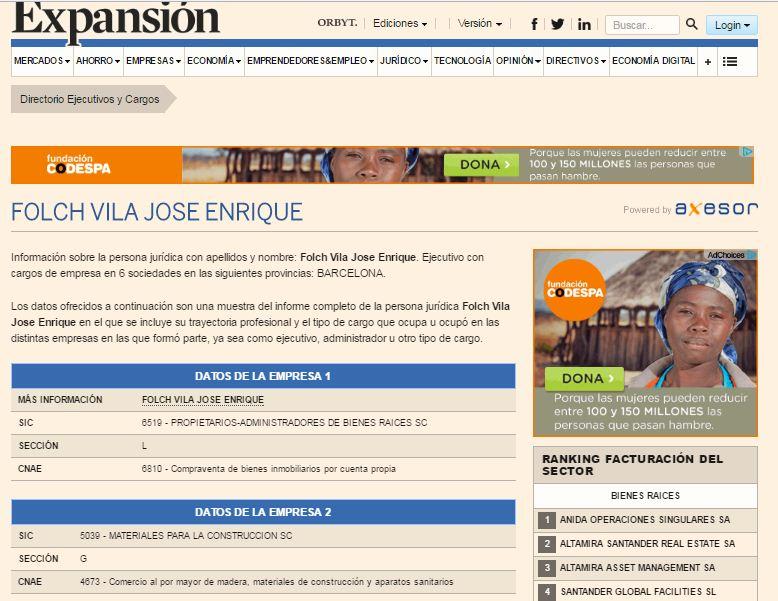Скриншот Expansión