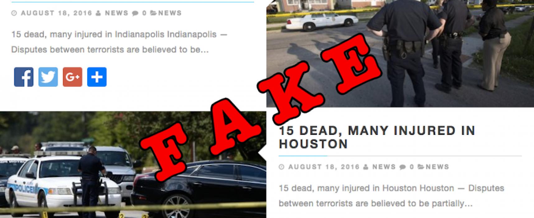 5 maneras que los sitios web de noticias falsas están evolucionando