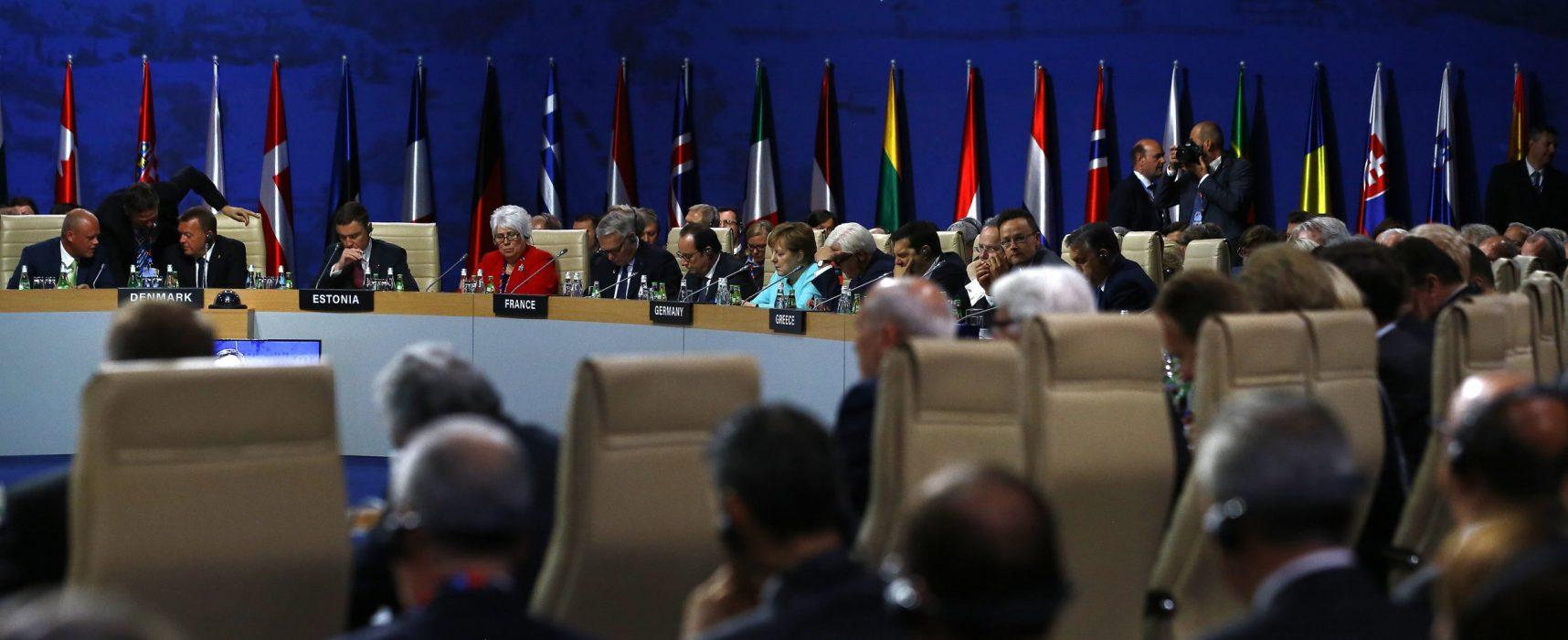 Paranoia a neexistující hrozba, píší ruská média o summitu NATO