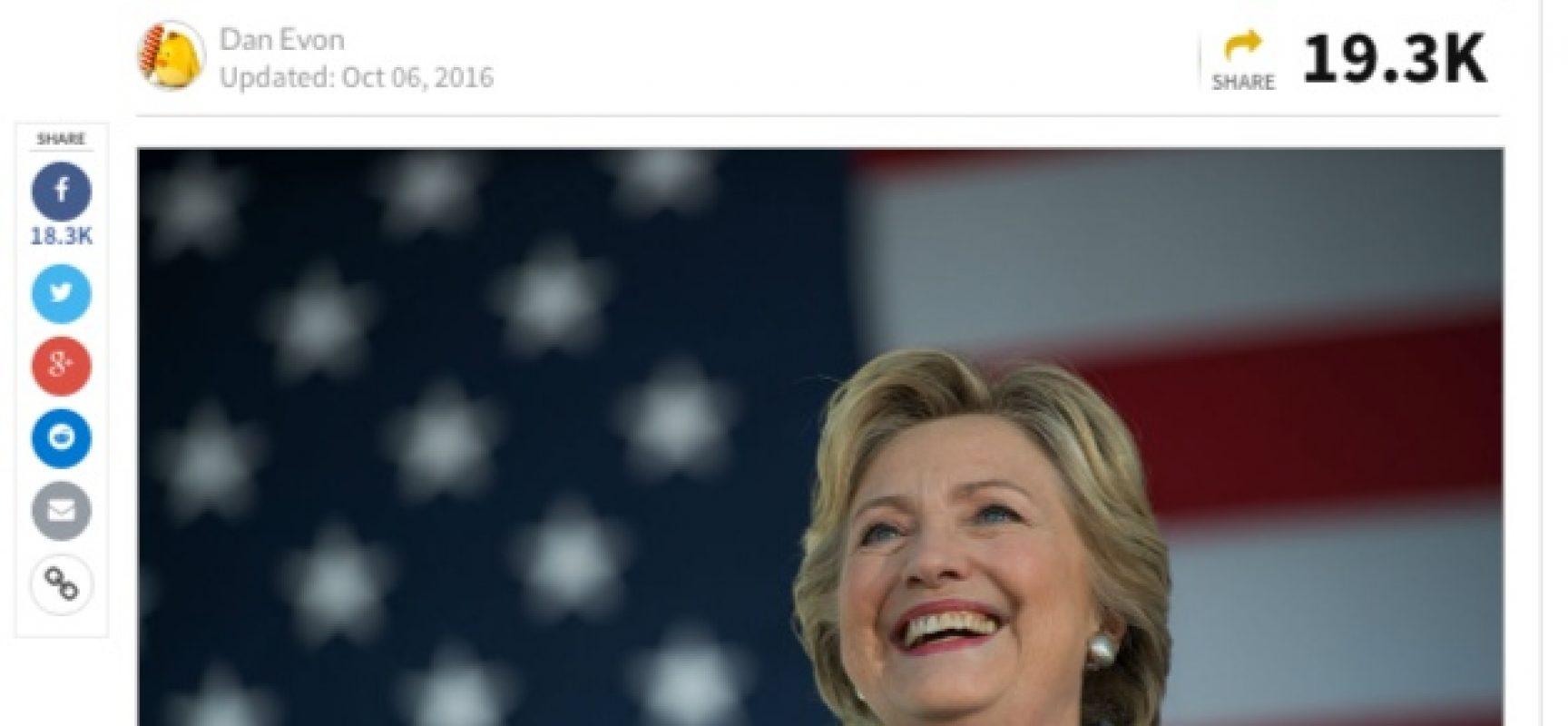 Fake : scoperte migliaia di schede elettorali prevotate per la Clinton