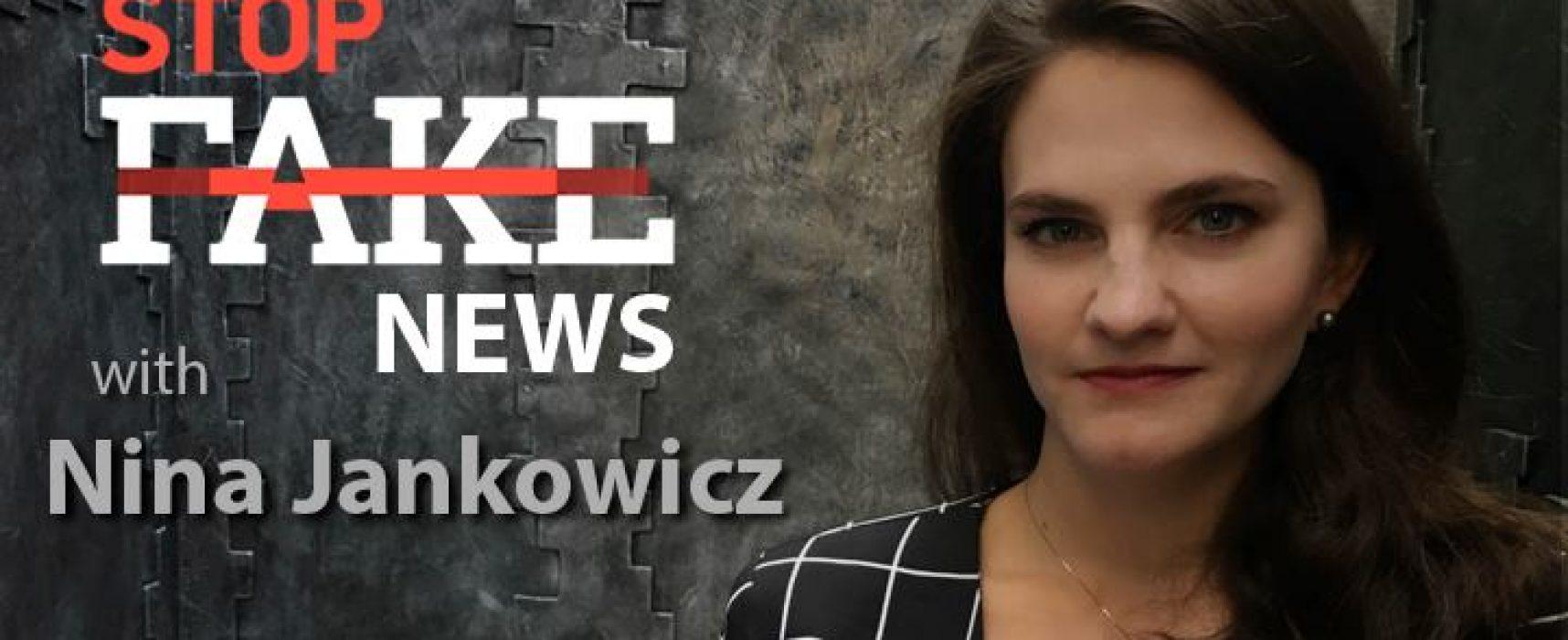 StopFakeNews #102 [Engels] met Nina Jankowicz