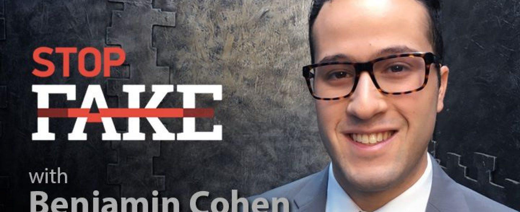 StopFakeNews #104 [Engels] met Benjamin Cohen