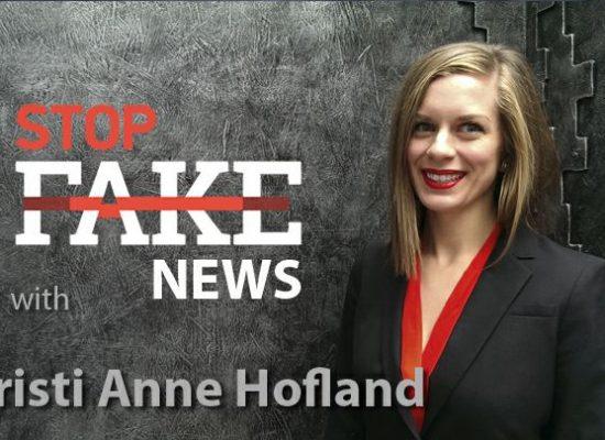 StopFakeNews #106 [Engels] met Christi Anne Hofland