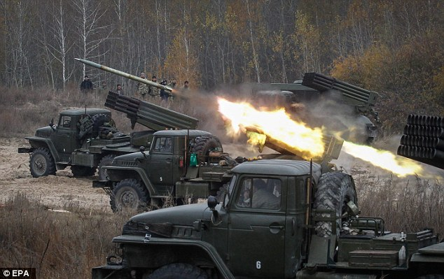 NATO allies are advancing with plans to deploy thousands of troops and military equipment to the Baltics and Poland (file picture)