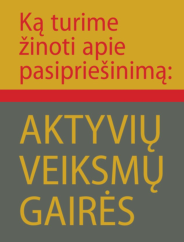 The guide has been made available in Lithuanian schools and libraries and will also be put online, according to reports