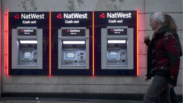 EPA Image caption NatWest appears to have given RT a month's notice about the freezing of its accounts