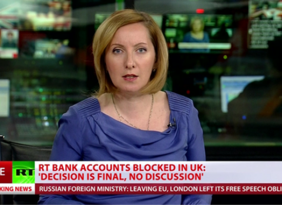 RT: NatWest 'freezes Russian channel's UK bank accounts'