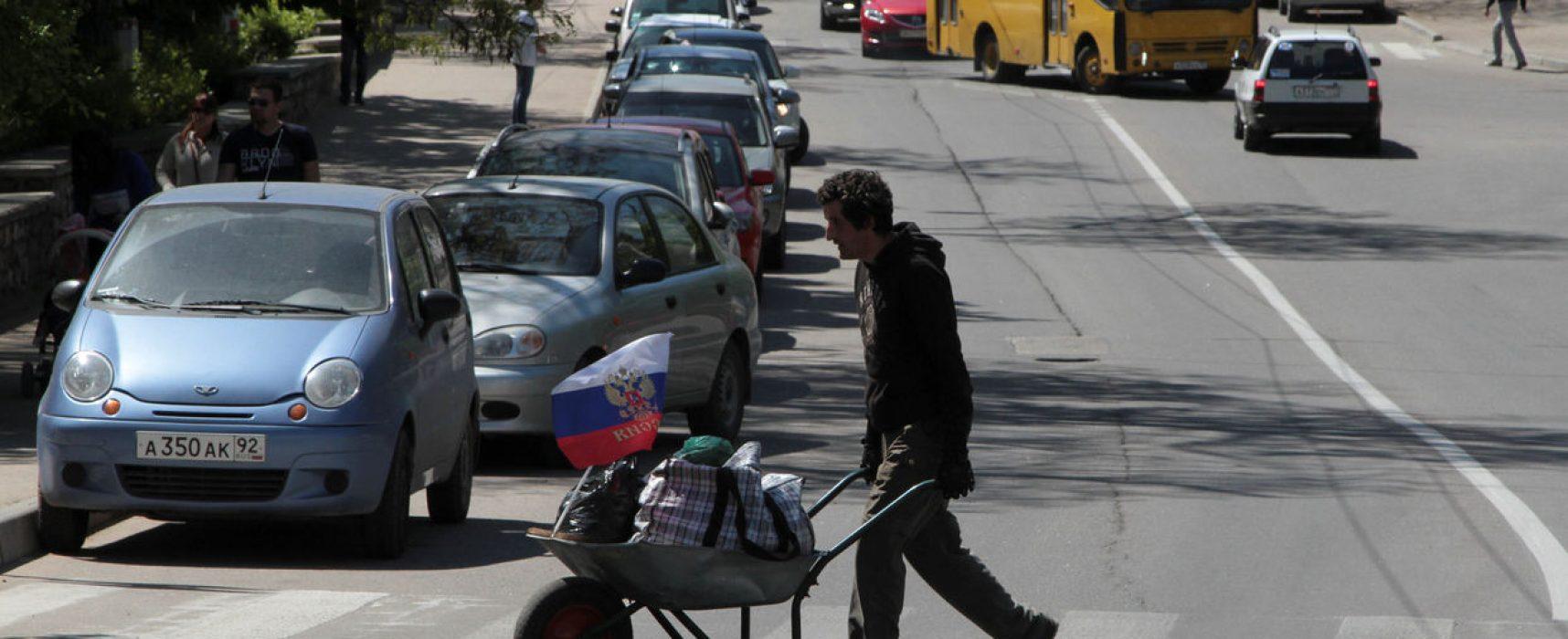 Zchudlý Krym vystřízlivěl. Pod Kyjevem nám bylo líp, ozývá se z poloostrova