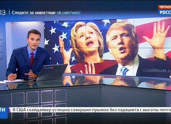 Boj o Bílý dům: Moskva nasadila armádu trollů, ruské televize fandí Trumpovi