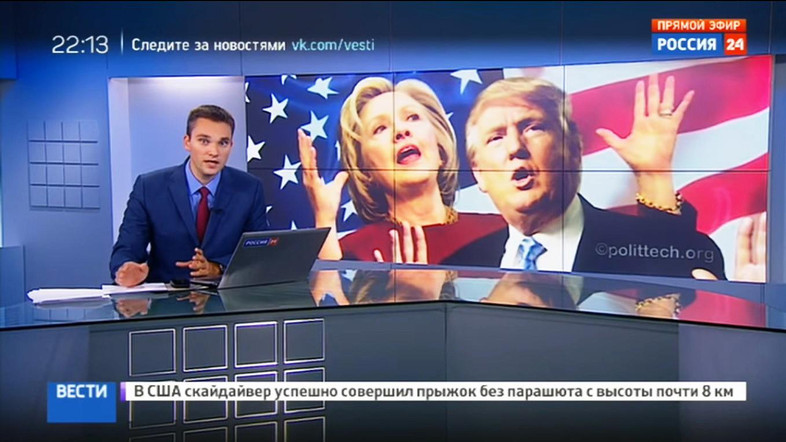 russian-tv-about-clinton-and-trump