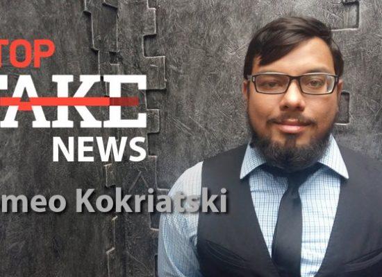 StopFakeNews #103 [Engels] met Romeo Kokriatski