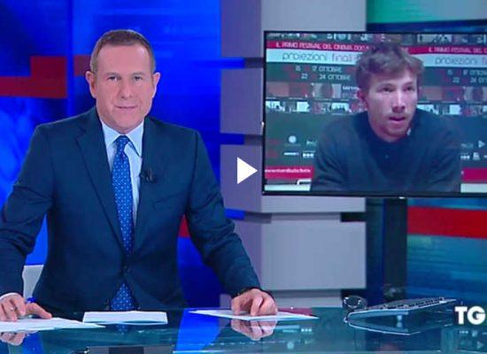 Fake de la chaîne de télévision TG5 au sujet de la mort d'un photographe italien près de Sloviansk
