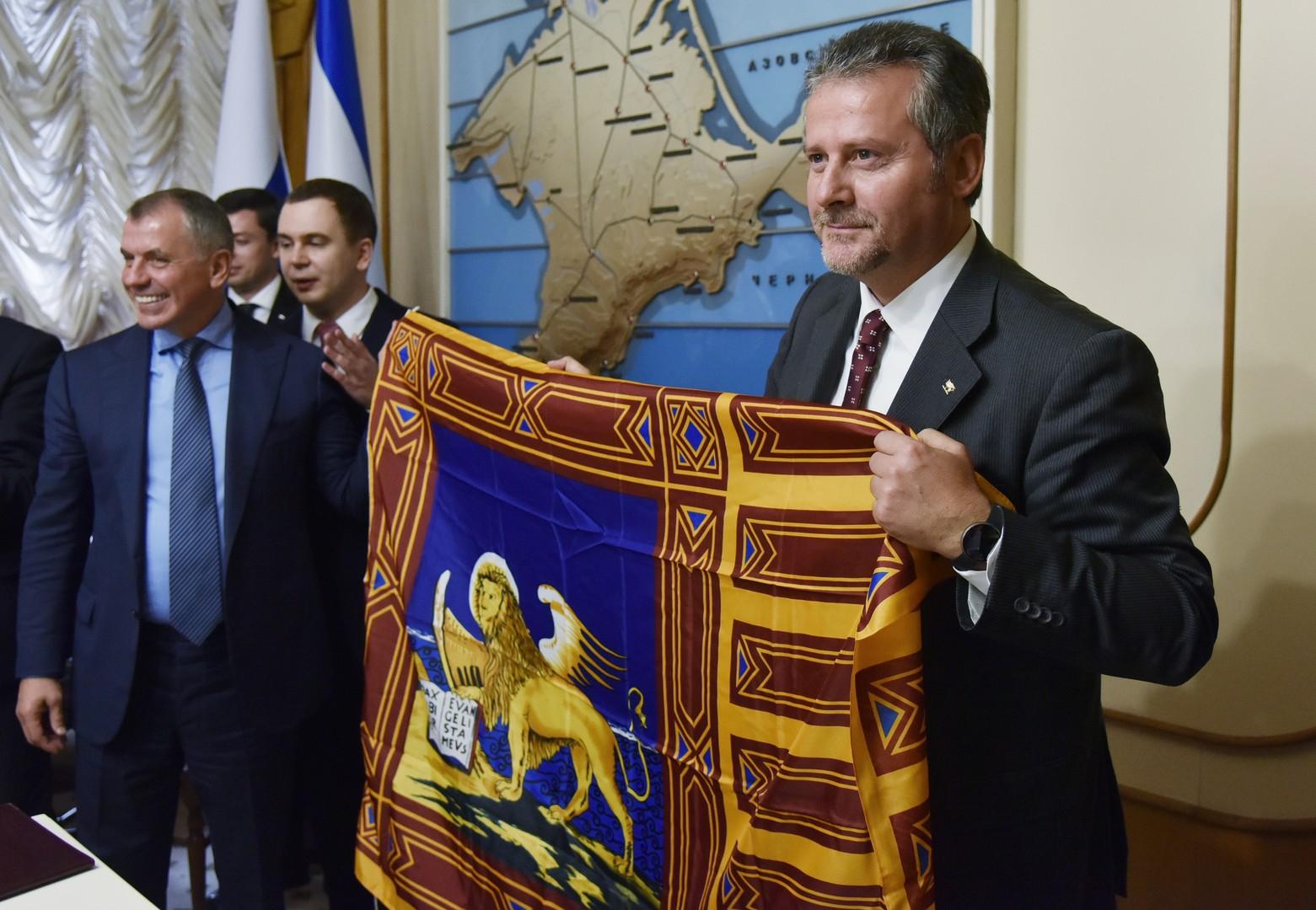 Lega Nord in Crimea