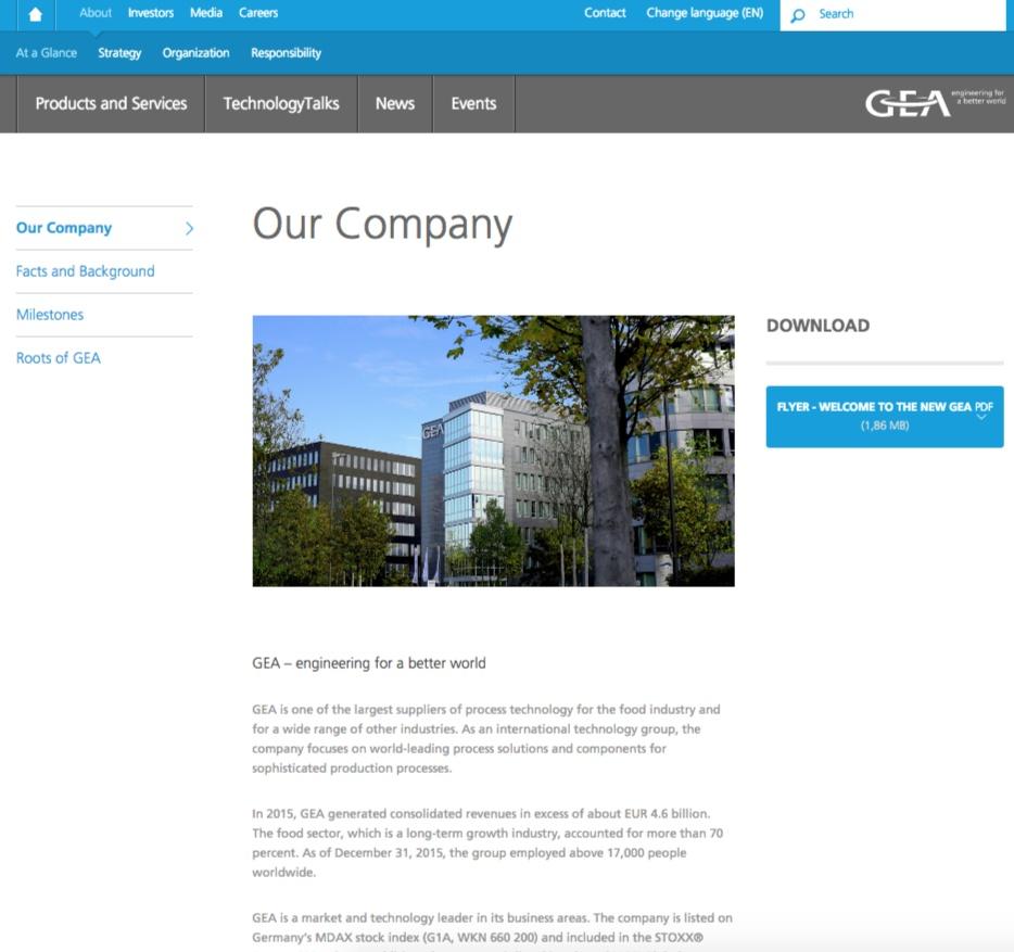 Скриншот gea.com