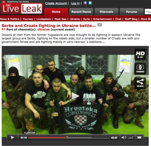 L'Ucraina arruola mercenari dalla Croazia