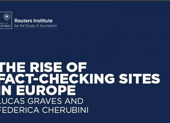 Rise of the fact-checker – a new democratic institution?