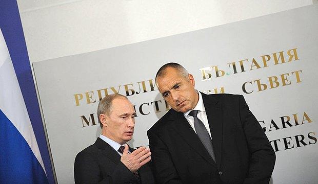 Премиер-министърът на РФ Владимир Путин и премиер-министърът на Република България Бойко Борисов, София, България 13 ноември 2010 г.