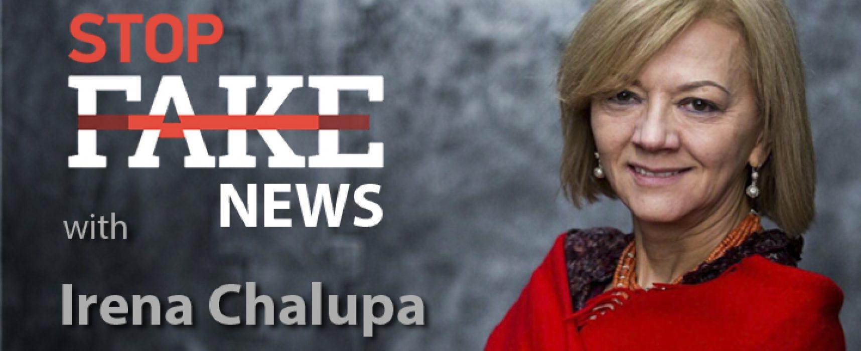 StopFakeNews #109 [Engels] met Irena Chalupa