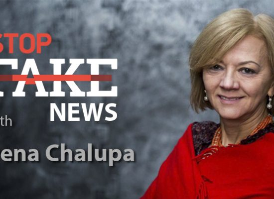 StopFakeNews #109 [ENG] Irena Chalupa