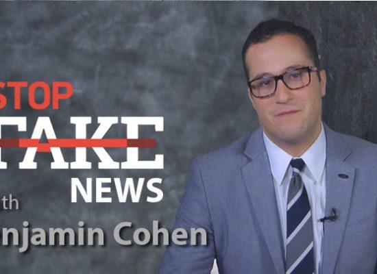 StopFakeNews #110 [ENG] with Benjamin Cohen