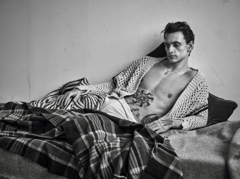 Sergei Polunin, la foto para Vogue, 2016