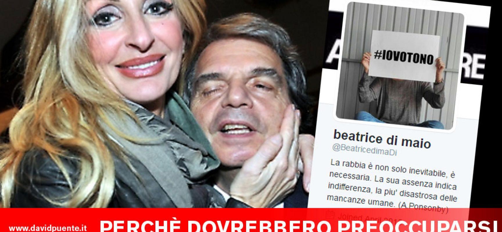Beatrice di Maio e Renato Brunetta