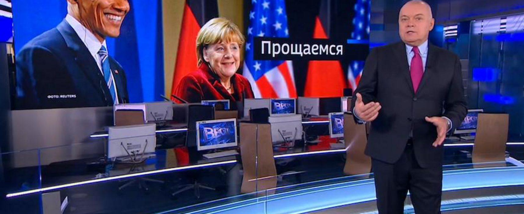 Russischer Chef-Kommentator lässt rassistische Bemerkung über Obama löschen