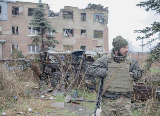 En Ukraine, aux avant-postes d'une guerre immobile