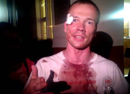 Un ruso, participante del Euromaidán, está siendo torturado encarcelado en Rusia