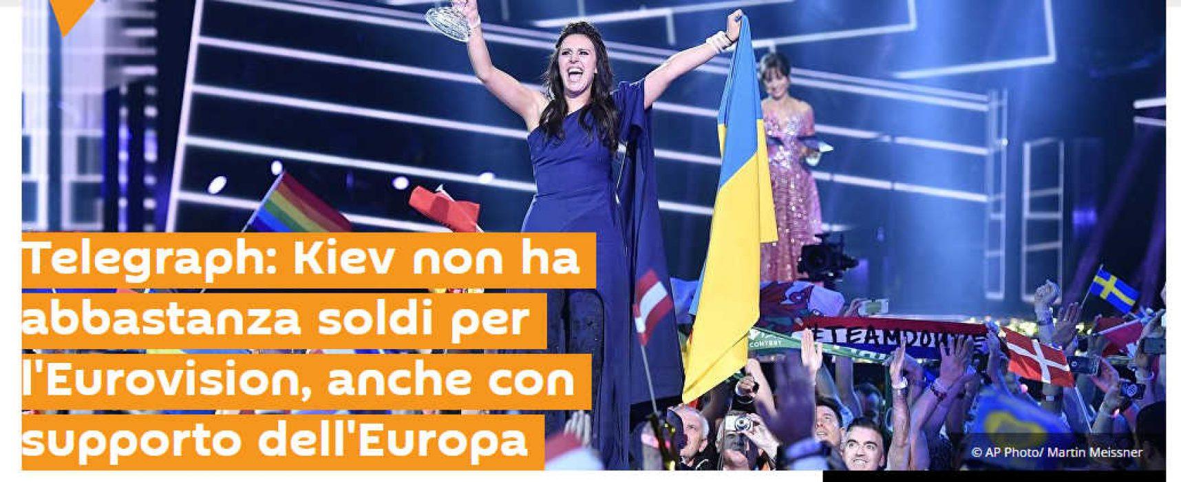 Eurovision nuovo fake di Sputnik Italia