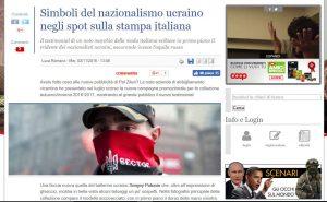Fake IL GIORNALE di Berlusconi sostiene che Polunin è Nazista