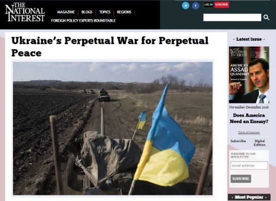 Как американский профессор лжет об Украине