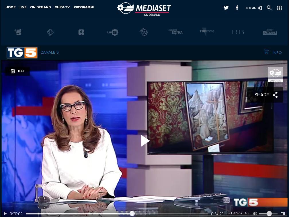 TG5 quadri di Catselvecchio rubati dagli ucraini (Fake)