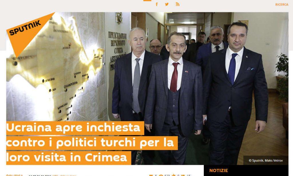 Turchia riconosce la Crimea come parte della Russia