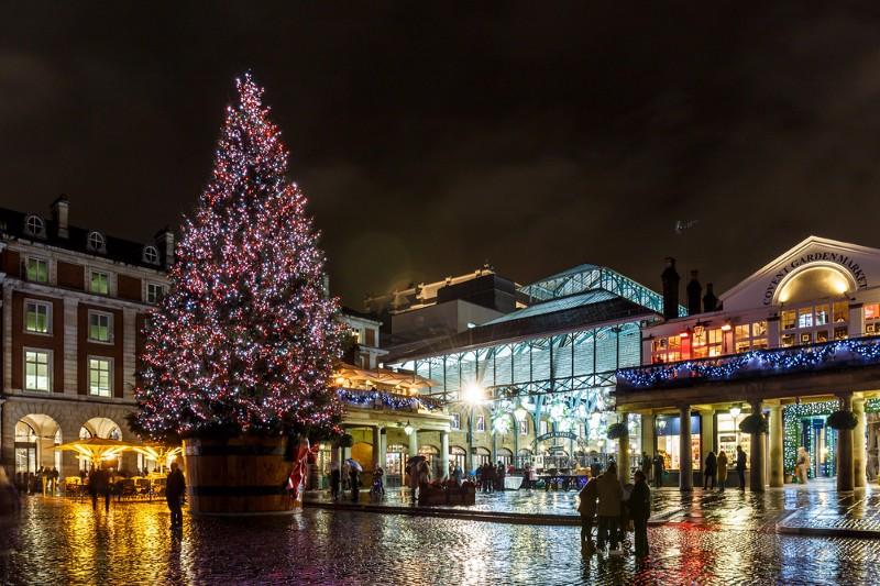 Мусульмане крадут Рождество. Ковент-Гарден, Лондон, 2016