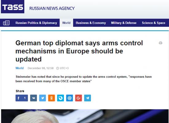 Les médias russes ont «inventé» des déclarations du ministre des Affaires étrangères d'Allemagne