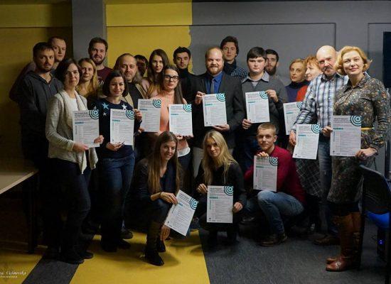 Vyhlášení vítězů soutěže o nejlepší factcheckingové práce z ukrajinských regionů