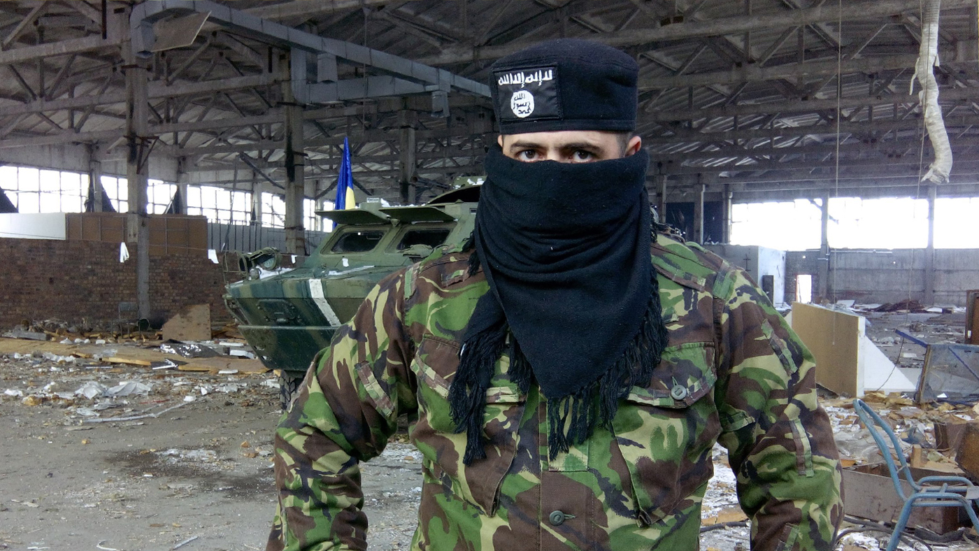 La prisión de los terroristas de Donetsk, diciembre de 2015