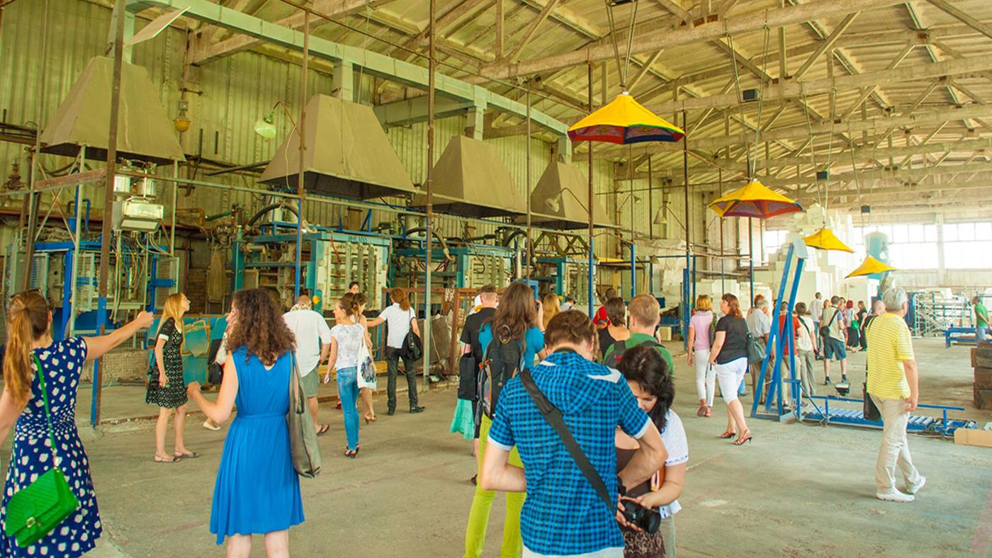 """El espacio de """"Isolatsia"""" en junio de 2012"""