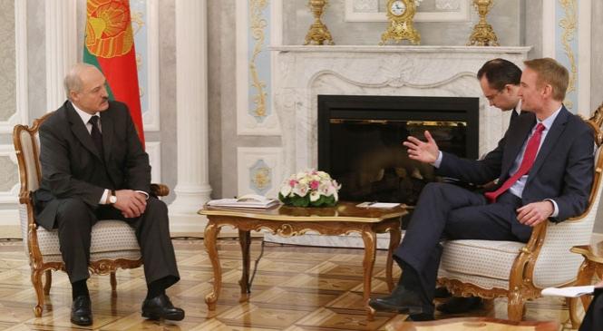 Фото встречи с официального сайта president.gov.by