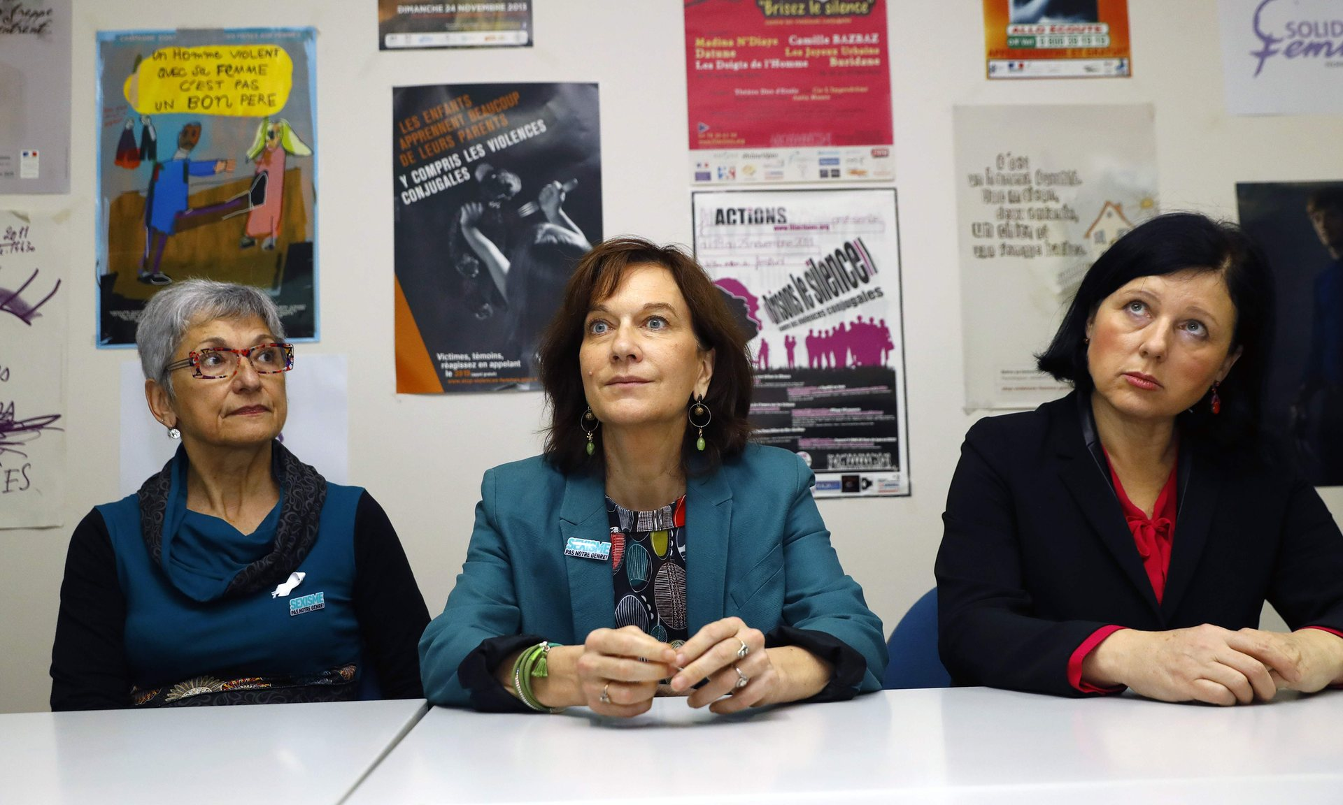 French women's minister, Laurence Rossignol, has spoken out about fake abortion information sites. Photograph: Patrick Kovarik/AFP/Getty Images