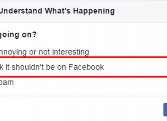 """Wie man """"Fake News"""" in sozialen Medien meldet"""