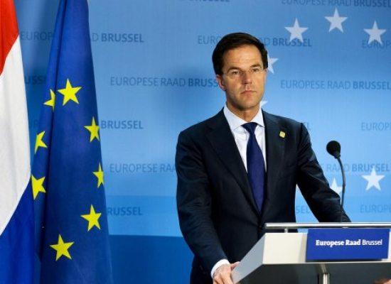 Ruttes hartenkreet voor oplossing Oekraïne
