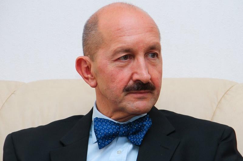 Embajador de España en Ucrania, Gerardo Ángel Bugallo Ottone. Foto vía mfa.gov.ua