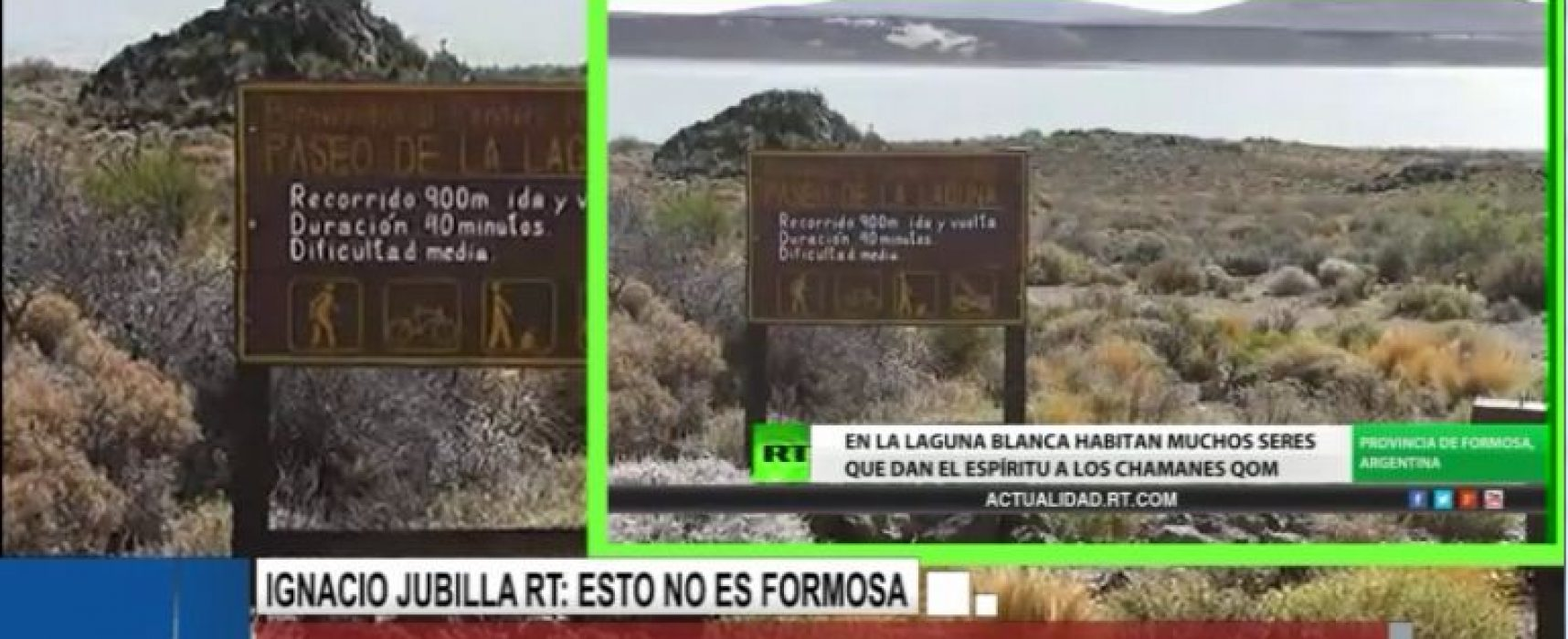 Un reportaje falso de RT sobre Argentina
