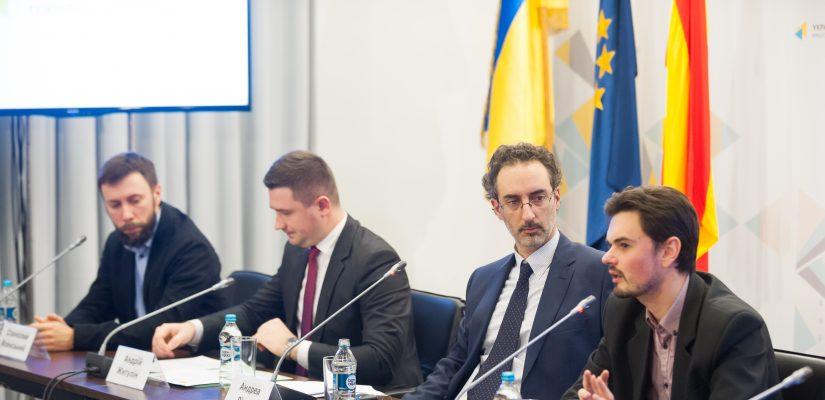 El foro periodistico Ucrania-España VI en Kyiv, la foto vía UCMC