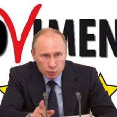 Ucraina : Grillo ripaga per l'aiuto ricevuto dall'amico Putin