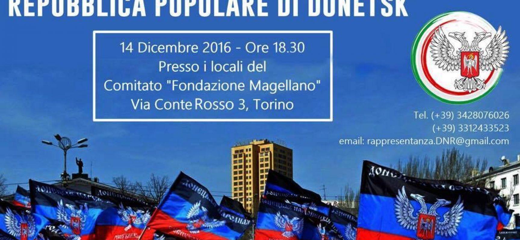 Interrogazione Parlamentare contro la rappresentanza DNR a Torino