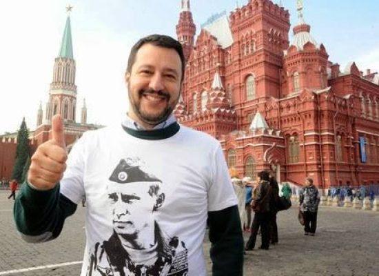 """Salvini: """"L'annessione russa della Crimea è legittima"""""""