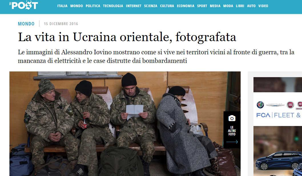 L'Ucraina non fa lavorare i giornalisti per paura